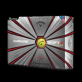 2018 Chrome Soft X Yellow Golf Balls