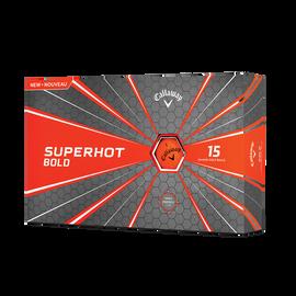 Superhot Bold Matte Orange 15-Pack Golf Balls