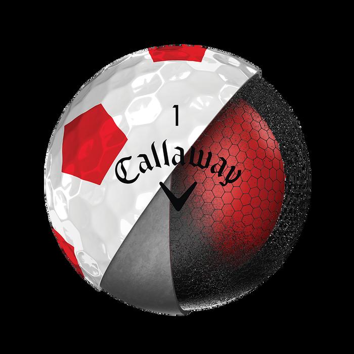 La nouvelle balle de golf Chrome Soft Truvis