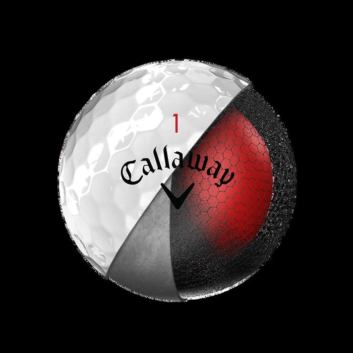 La nouvelle balle de golf Chrome Soft