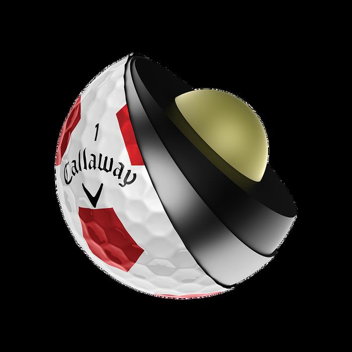 Balle de golf Chrome Soft X Truvis
