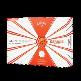 Supersoft Matte Orange Golf Balls