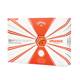 Supersoft Matte Orange Golf Balls