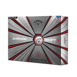 La nouvelle balle de golf Chrome Soft X