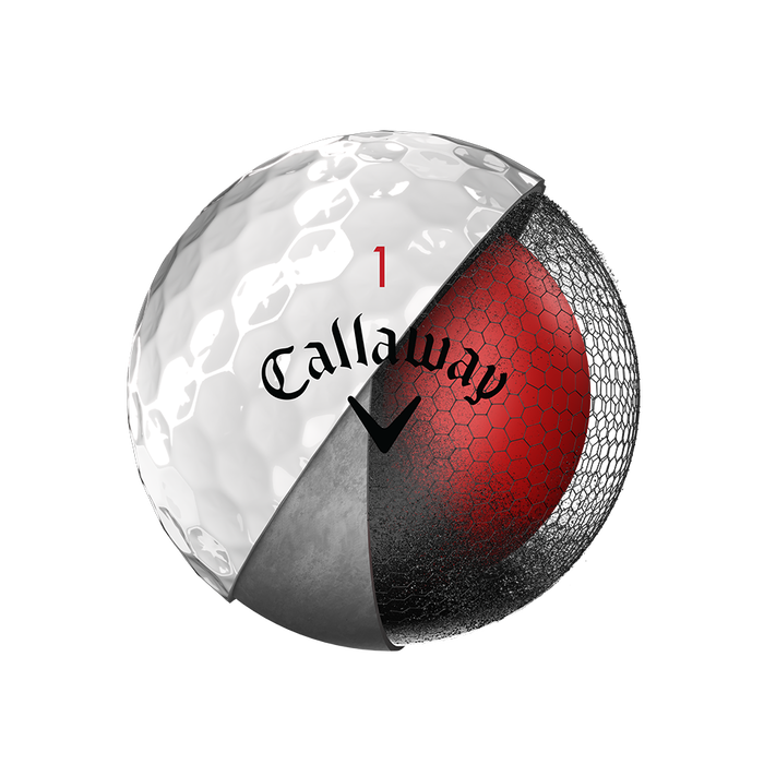 La nouvelle balle de golf Chrome Soft