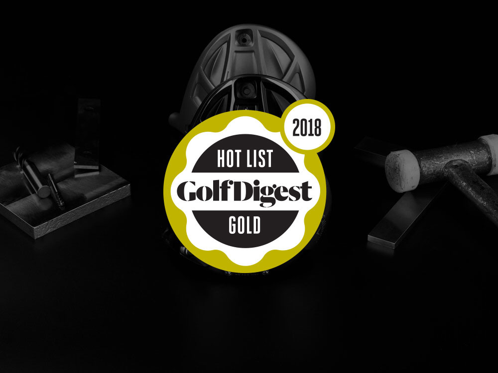 Callaway Rogue Driver 2018 Golf Digest Hot List Badge