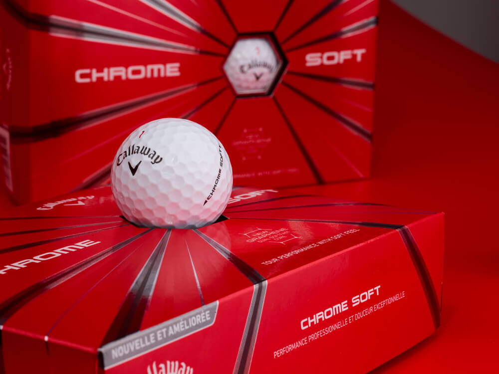 2018 Callaway Chrome Soft Dozen Golf Balls