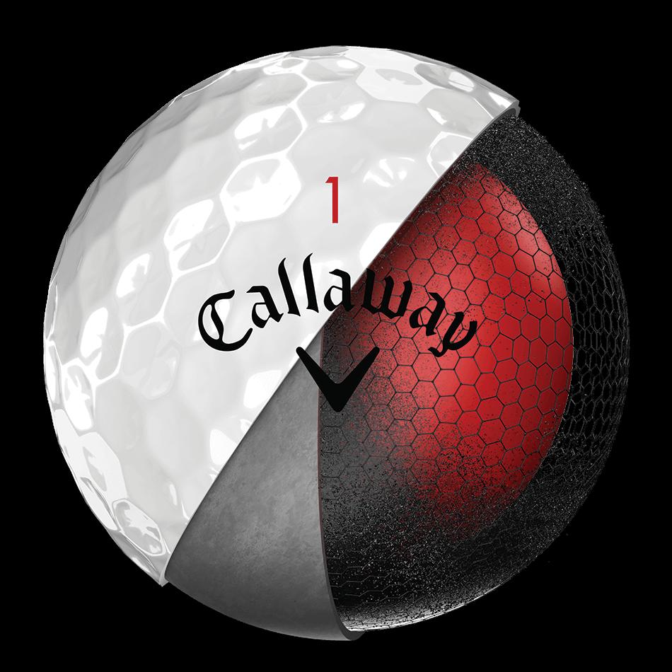 La nouvelle balle de golf Chrome Soft Technology Item